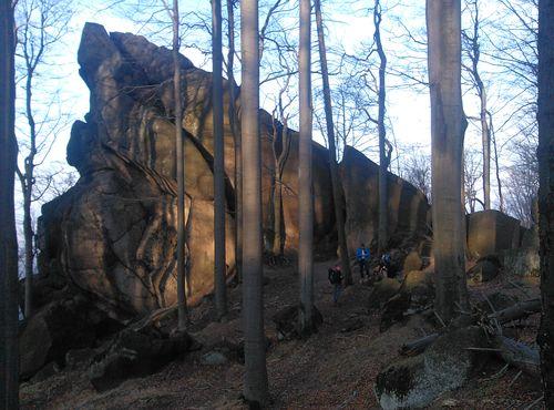 Sviní kámen 14.3. 2014 - foto
