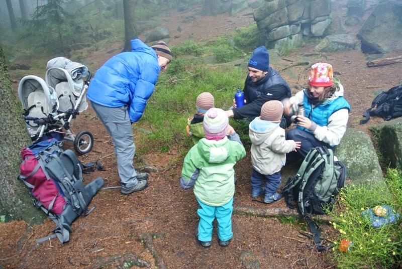 Cernostudnicní hreben - pohoda v nepohode - 9. listopad 2014