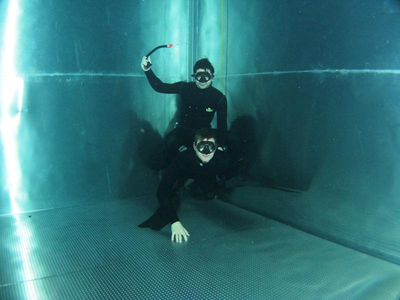 Bazén Liberec, trénink freediving 5.3. 2014