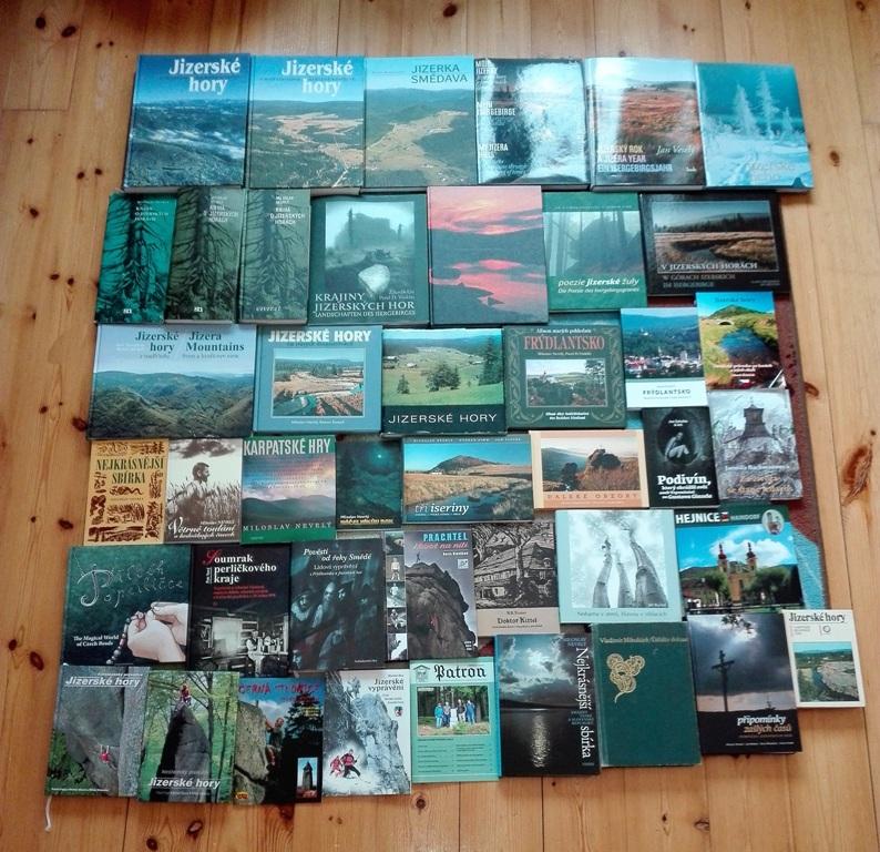 Knihy s tematikou Jizerských hor