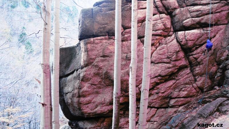 Podzimní stena - Jizerky 2.11. 2014
