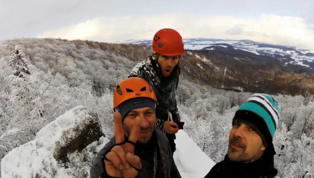 Jizerské hory 2016 Sníh Mráz  Zˇula  -  video