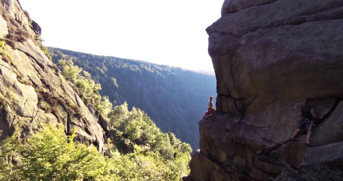 Jizerské hory Pohovka - video
